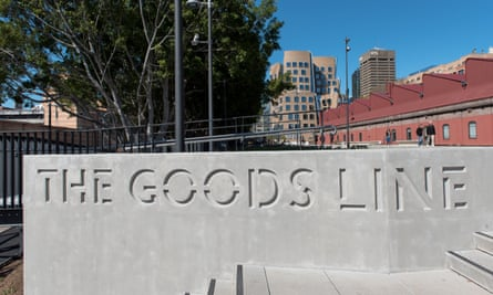 The Goods Line in Sydney is hosting a program called #TheGoods for Sydney Architecture festival