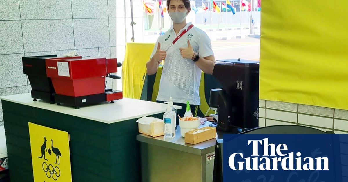 Australia's secret weapon at the Tokyo Olympics – good coffee, of course