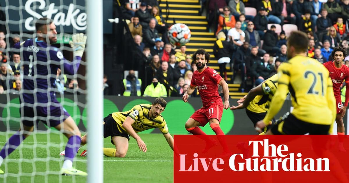 Watford 0-5 Liverpool: Premier League – as it happened