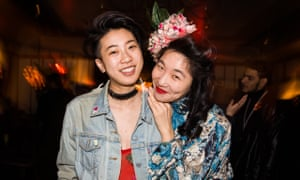Jes Tom and Sueann Leung come to the Queer Lunar New Year Party organized by Yellow Jackets Collective and Discwomen at Mission Chinese Food, New York on 5 February.