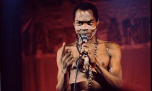 'Anger and exuberance': Fela Kuti circa 1980