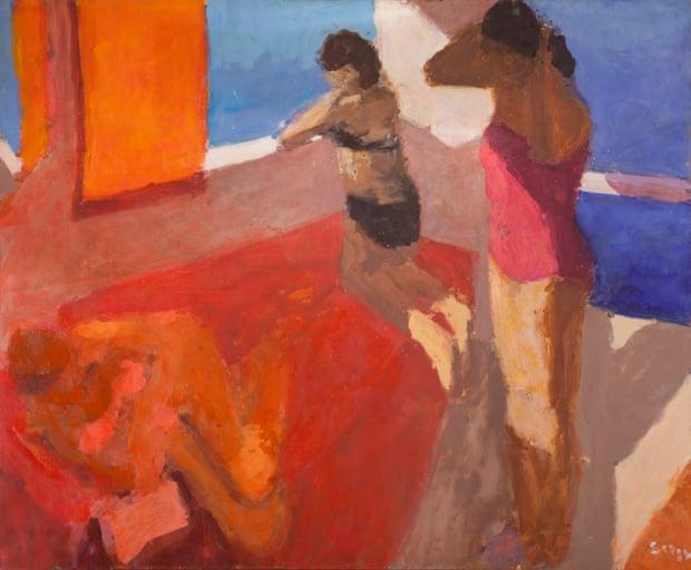 'Undimmable curiosity': Three Bathers (2012) by Sargy Mann.