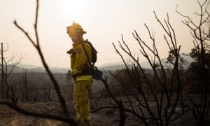 Firefighters like Gabe Lauderdale are dealing with increasingly large and dangerous fires.
