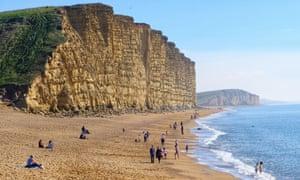 West Bay in Dorset
