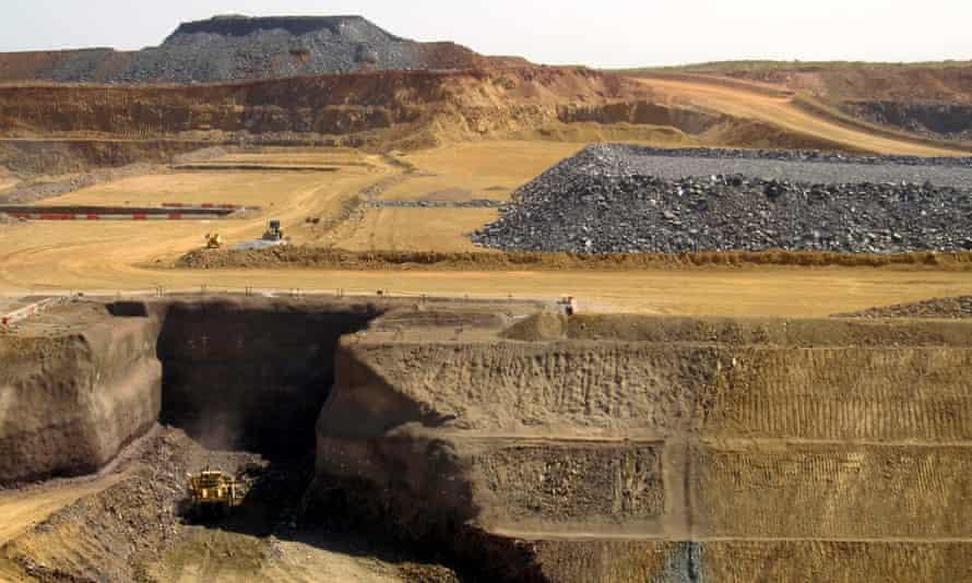 Iron ore project in the Pilbara region of Western Australia
