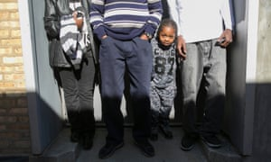 LaTonia Wilson and Atheris Mann with sons Jessie Patrick and four-year-old Marquise