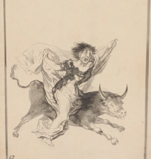 Francisco Goya, Nightmare, c 1816-20.