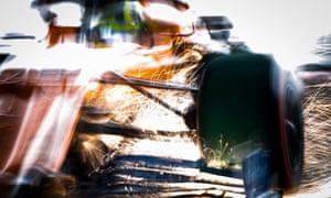 McLaren's Lando Norris in action at this year's Japanese grand prix at Suzuka.