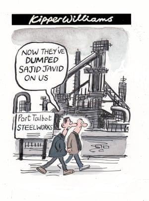 Kipper Williams on the Port Talbot steel crisis.