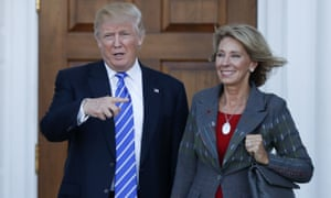 One of the committees that has not yet received the forms is the Senate health, education, labor and pensions committee, which has scheduled a hearing next week for Betsy DeVos, Trump's pick to lead the education department.