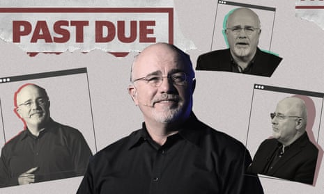 A photo illustration of Dave Ramsey, a radio talk show host.