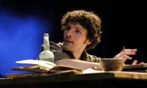 Caught in the crossfire … Colin Morgan as the bilingual Owen.