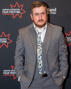 Jamie Adams at the Edinburgh film festival last month.