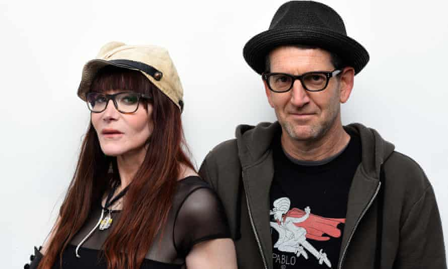 'It was a fiction that went off the page' ... filmmaker Jeff Feuerzeig with Laura Albert in January 2016.
