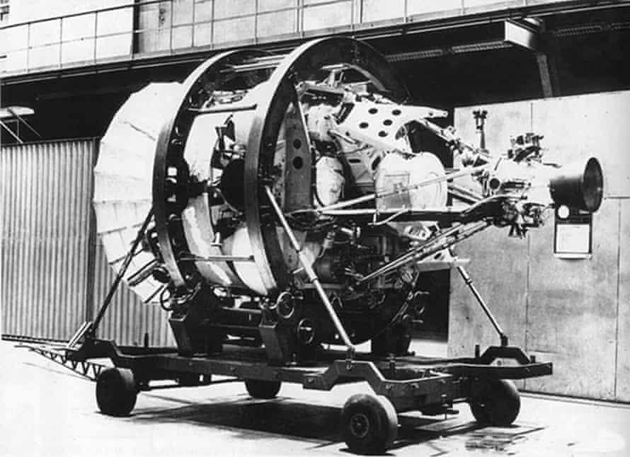 the istrebitel sputnik or fighter satellite