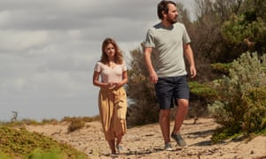Joanna (Jenna Coleman) and Alistair (Ewen Leslie) in The Cry.