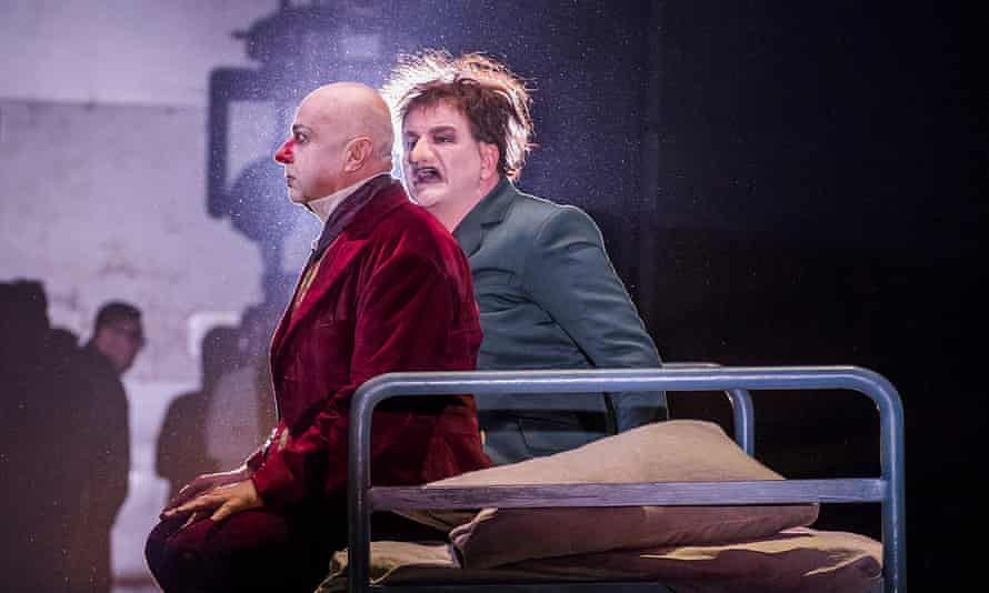 The Royal Opera House's production of Shostakovich's The Nose, directed by Barrie Kosky.