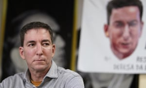 Glenn Greenwald was accused of cybercrimes.