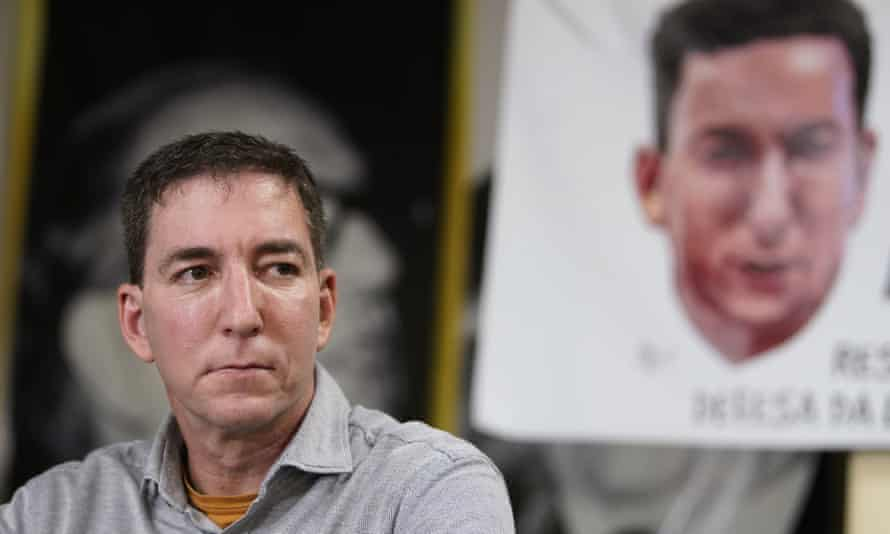 Glenn Greenwald was accused of cybercrimes.