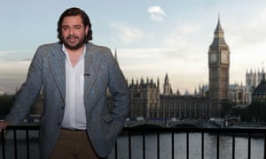 Matt Berry as Michael Squeamish in Road to Brexit.