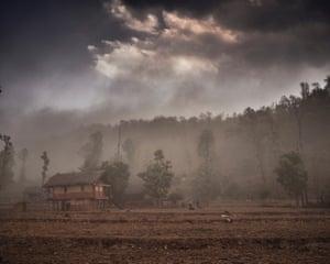 Scene of an attack in chhau