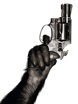 Monkey with Gun, New York City, 1992 by Albert WatsonAsking what makes a great photograph, Watson homes in on memorability, with this 1992 image as a prime example of his own attempts to create something as simple as it is powerful.