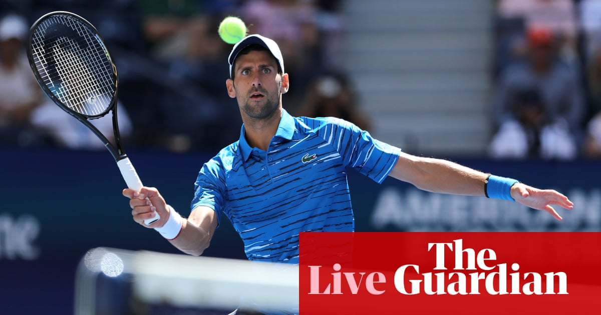 US Open 2019: Konta through, Djokovic, Barty and more on day one – live!