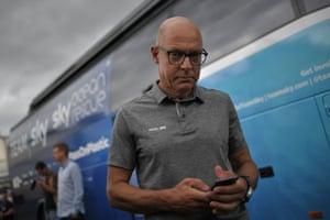 Team Sky's principal, Sir Dave Brailsford.