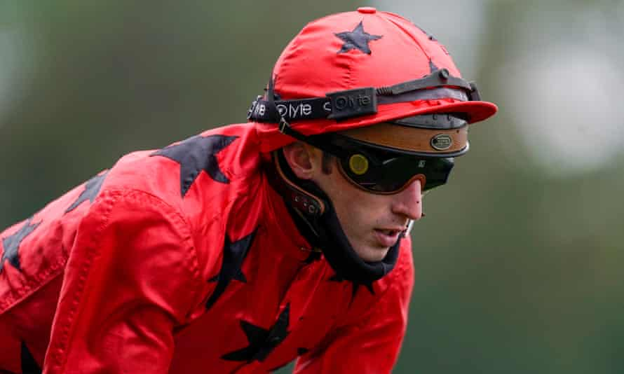 Pierre-Charles Boudot pictured riding at Ascot on British Champions Day in October.