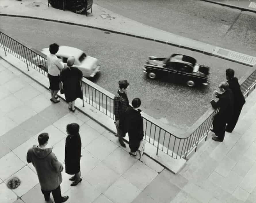 Highwalk at London Wall, 1962