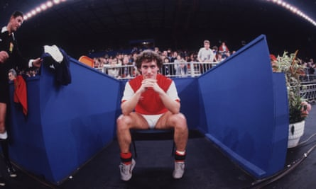 Kenny Sansom sits out for a two-minute sin-bin.