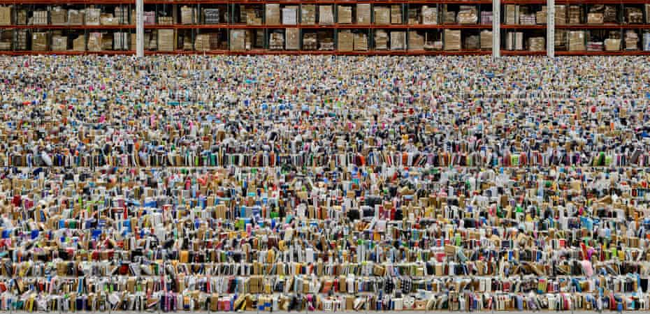 Amazon by Andreas Gursky, 2016.