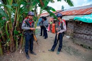 Camp in Rakhine state
