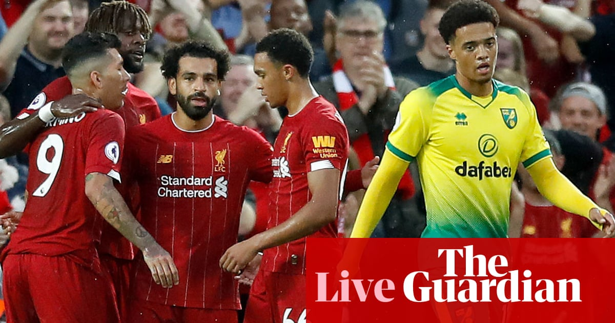Liverpool v Norwich: Premier League – live!