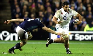 England's Billy Vunipola gets past Scotland's David Denton during the sides' opening Six Nations Championship match at Murrayfield on 6 February 2016