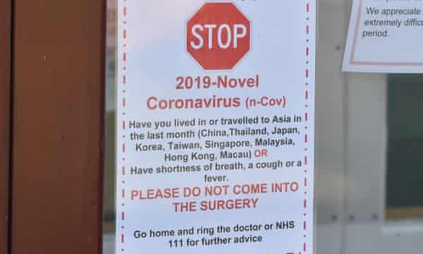 nhs coronavirus advice