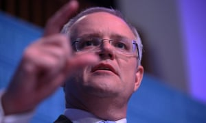 Scott Morrison delivers the traditional after budget day address at the National Press Club
