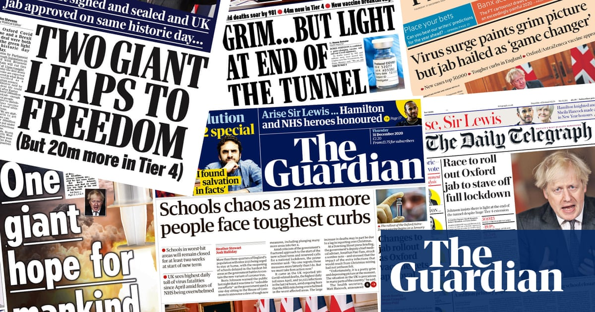 Goodbye to all that: what the papers say about Brexits culminating act