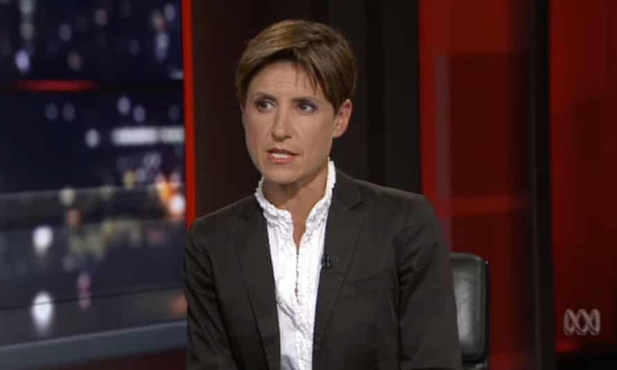 Emma Alberici, the host of the ABC's Lateline program, on 4 October 2017.