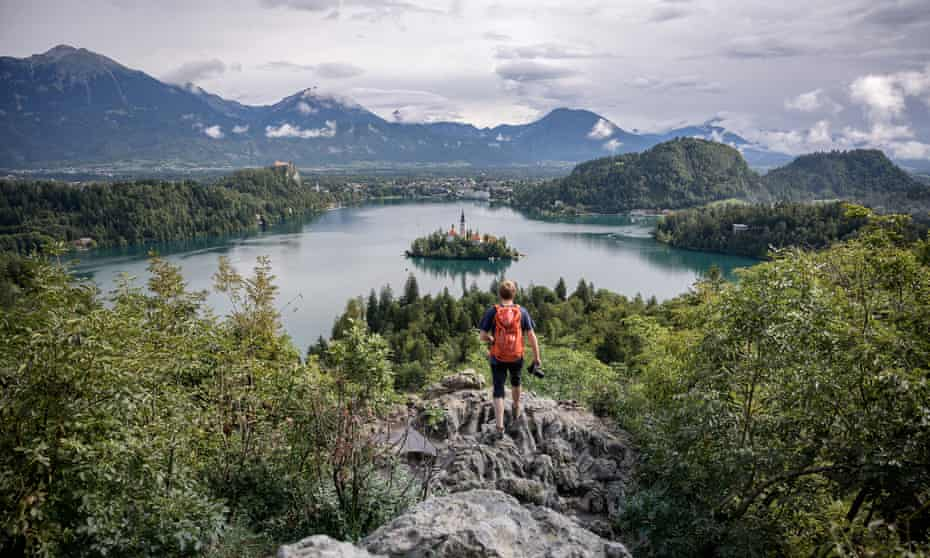 Hiking in Slovenia's mountains and lakes