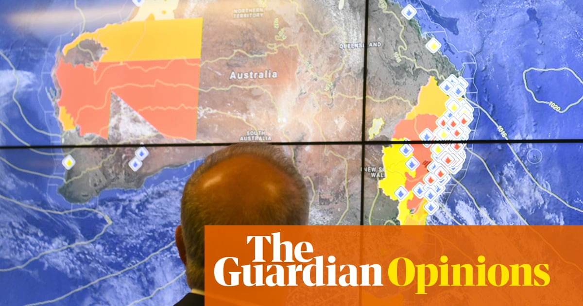Beware terrorists but don't sweat the climate crisis – how blind can Morrison be? | Jeff Sparrow