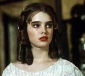 Actor Brooke Shields in Pretty Baby, 1978
