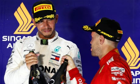 Lewis Hamilton 'going from strength to strength' after Singapore F1 win
