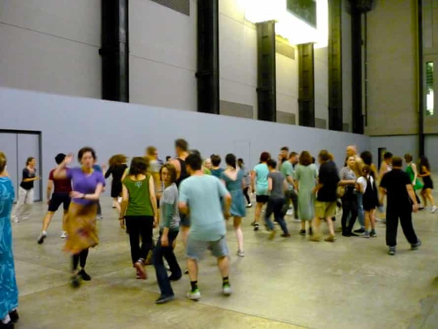 The Tino Sehgal effect at Tate Modern in 2012.