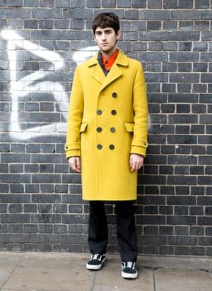 Alvaro Martinez, fashion student at Central St Martins