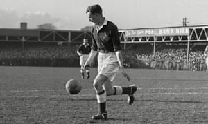 Northern Ireland's Danny Blanchflower, voted Footballer of the Year in 1958 and 1961, said: 'I think, therefore I'm dangerous.'