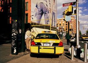 taxi i New York, Manhattan