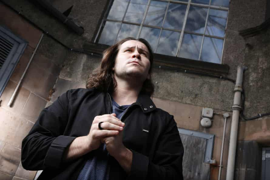 Daniel Portman in Edinburgh.