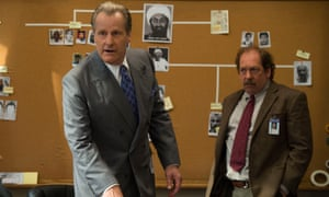 Jeff Daniels and Bill Camp as FBI agents in The Looming Tower.