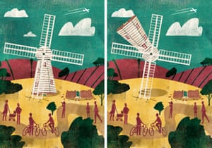The challenge now, as Chinneck sees it, is gauging how not to burn out, so as to retain both the public's appetite for his work and his own enthusiasm to make it. This illustration is of a project waiting on the right place and the right partner to realise: an inverted windmill, where the building would rotate while the sails remained still. Chinneck said he has around 100 ideas he'd one day like to tick off. 'It's both wonderfully exciting and painfully frustrating but I'd like to make them all. It does feel like a to-do list, and it's a very, very ambitious one'